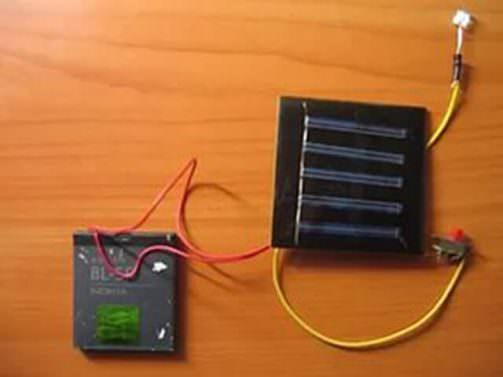Зарядка для телефона из солнечных батарей своими руками