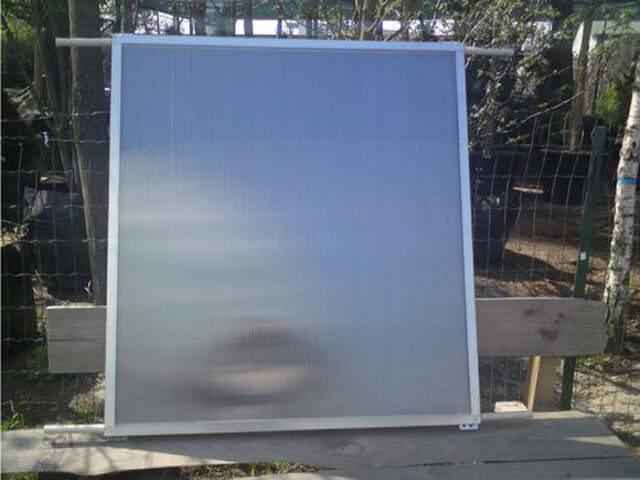 Солнечный коллектор из поликарбоната своими руками как собрать и изготовить