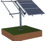 Каркасный способ монтажа солнечных модулей
