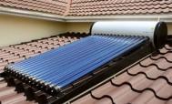 Солнечный водонагреватель для дома