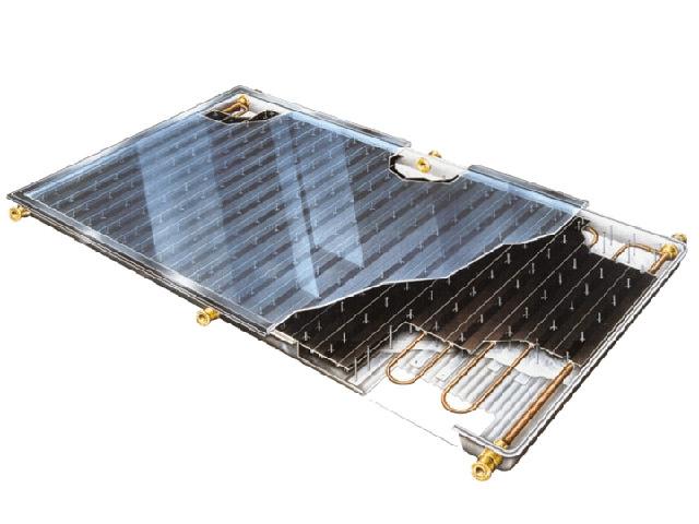 Прмерное устройство солнечного коллектора