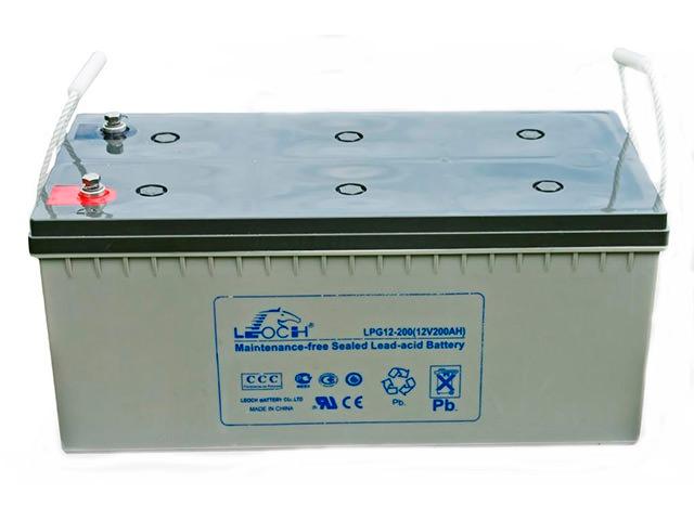 Аккумулятораня батарея 12В применяемая в связке с инвертором