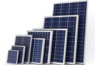 Солнечные модули разных размеров
